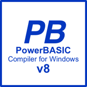 Picture of PowerBASIC Compiler for Windows v8.04